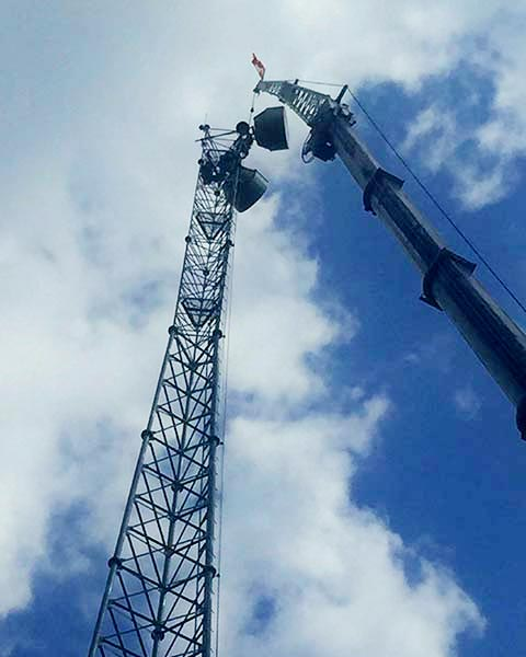 Telcom Equipment Installation